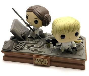 Funko Star Wars. Movie Moments. Luke & Leia Trash Compactor.s - 3