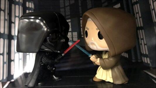 Funko Star Wars. Movie Moments. Darth Vader & Obi Wan Kenobi.s - 4