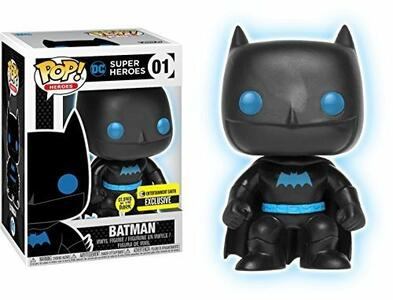 Funko POP! Justice League. Batman Silhouette Glow in the Dark