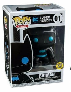 Funko POP! Justice League. Batman Silhouette Glow in the Dark - 3