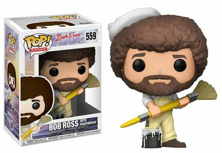 Funko POP! Television. Joy Of Painting Series 2. Bob Ross in Overalls
