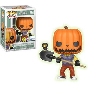 Pop! Games: Hello Neighbor. Pumpkin Head Gitd Le