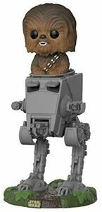 Funko POP! Deluxe. Star Wars. Chewbacca in AT-ST