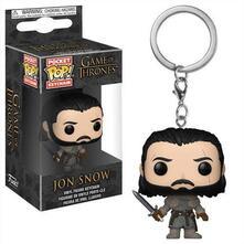 Funko POP! Keychain. Game Of Thrones. Jon Snow. Beyond The Wall