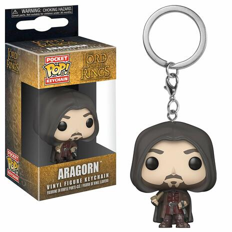 Funko POP! Keychain.s. Lord Of The Rings / Hobbit. Aragron