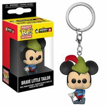Funko Pop! Keychain. Mickey'S 90Th. Brave Little Tailor
