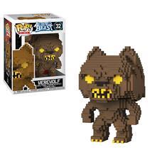 Funko POP! 8-Bit. Altered Beasts. Greek Warrior. Werewolf