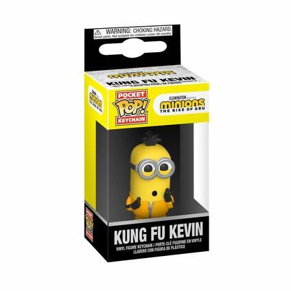 POP! Minions Portachiavi KungFu Kevin