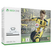 Videogiochi Xbox One Xbox One S 500GB White + FIFA 17