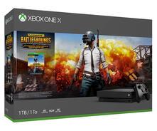 Microsoft Xbox One X + Playerunknown's Battlegrounds Nero 1000 GB Wi-Fi