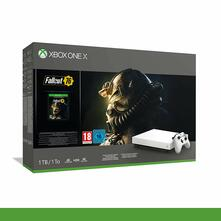 Microsoft Xbox One X (1TB) Robot White Special Edition + Fallout76