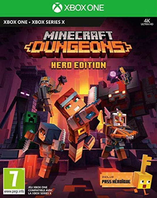 Minecraft Dungeons -Hero Edition (Xbox Series X) [Edizione: Francia]