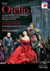 Giuseppe Verdi. Otello di Bartlett Sher - Blu-ray