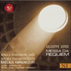 Messa da Requiem - Vinile LP di Giuseppe Verdi,Nikolaus Harnoncourt,Wiener Philharmoniker,Arnold Schönberg Choir