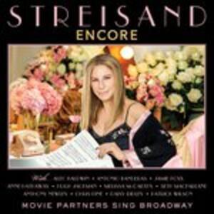 Encore. Movie Partners Sing Broadway - Vinile LP di Barbra Streisand