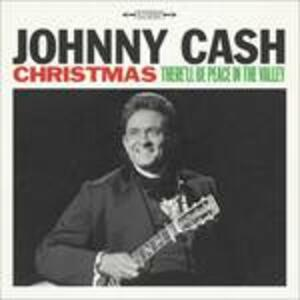 Christmas. There'll Be Peace in the Valley - Vinile LP di Johnny Cash