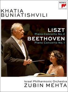 Khatia Buniatishvili. Zubin Mehta. Liszt. Beethoven - DVD
