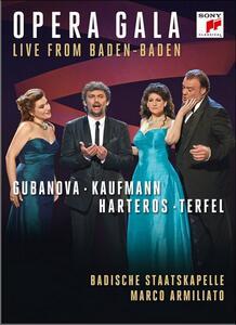 Jonas Kaufmann. Opera Gala Live From Baden-Baden - DVD