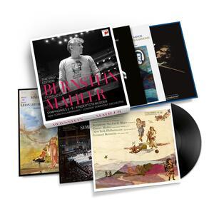 Sinfonie n.1, n.2, n.3, n.4, n.5, n.6, n.7, n.8, n.9 - Vinile LP di Leonard Bernstein,Gustav Mahler,New York Philharmonic Orchestra,London Symphony Orchestra