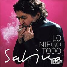 Lo Niego Todo - CD Audio di Joaquin Sabina