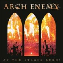 As the Stages Burn! - CD Audio + DVD + Blu-ray di Arch Enemy