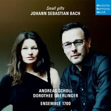 Small Gifts - CD Audio di Johann Sebastian Bach,Dorothee Oberlinger