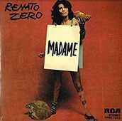 Vinile Madame - Un uomo da bruciare Renato Zero