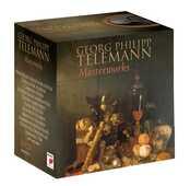 CD I capolavori Georg Philipp Telemann Camerata Köln Gustav Leonhardt