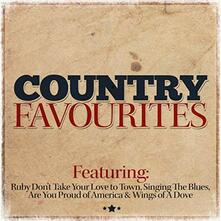 Country Favourites - CD Audio
