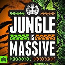 Ministry of Sound. Jungle Is Massive - CD Audio