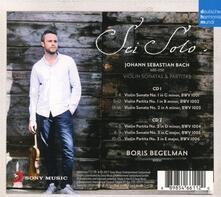 Sonate e Partite - CD Audio di Johann Sebastian Bach