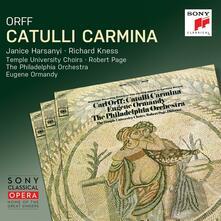Catulli Carmina - CD Audio di Carl Orff,Eugene Ormandy,Philadelphia Orchestra