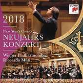 CD New Year's Concert 2018 (Concerto di Capodanno) Riccardo Muti Wiener Philharmoniker