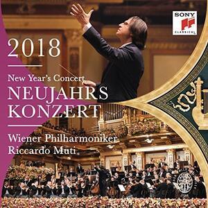 New Year's Concert 2018 (Concerto di Capodanno) - CD Audio di Riccardo Muti,Wiener Philharmoniker