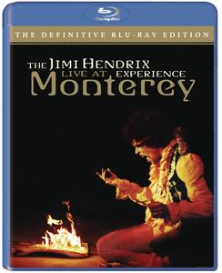 American Landing. Jimi Hendrix Experience Live at Monterey (DVD) - Blu-ray