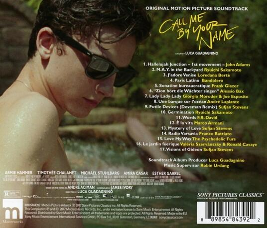 Chiamami col tuo nome (Call Me by Your Name) (Colonna sonora) - CD Audio - 2