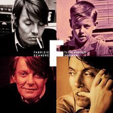 Tu che m'ascolti insegnami (Vinyl Box Set 180 gr. Limited Edition) - Vinile LP di Fabrizio De André