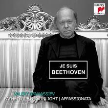 Pathétique - Moonlight - Appassionata - CD Audio di Ludwig van Beethoven,Valery Afanassiev