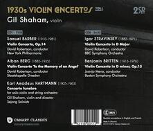 1930's Violin Concertos 1 - CD Audio di Gil Shaham