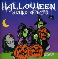 Halloween Sound Effects - CD Audio