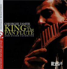 King Of The Pan Flute & Other Favorites - CD Audio di Gheorghe Zamfir