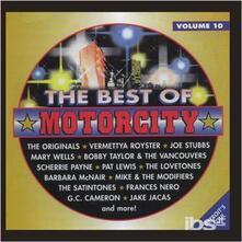 Best of Motorcity vol.10 - CD Audio