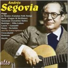 Plays - CD Audio di Andrés Segovia,Miguel Llobet