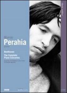 Ludwig van Beethoven. Concerti per pianoforte. Murray Perahia (2 DVD) - DVD