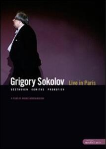 Grigory Sokolov. Live in Paris di Bruno Monsaingeon - DVD
