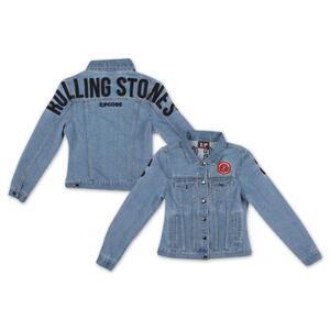 Giacca Donna Rolling Stones. Arch Logo Denim