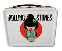 Idee regalo Valigetta Metallica Rolling Stones. Geisha Tin Tote Limited Edition Import