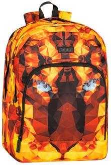 Zaino organizzato Comix Special Tiger Edition Arancione