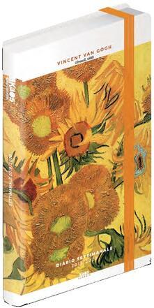 Diario Kaos Classic 2019-2020, 12 mesi, settimanale Vincent Van Gogh