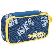 Astuccio accessoriato Quick Case Seven Totem. Blu